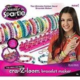 Cra-Z-Art Shimmer 'n Sparkle Cra-Z-Loom Bracelet Maker Enfants, enfants, jeux, jouets, jeux by Game&Play