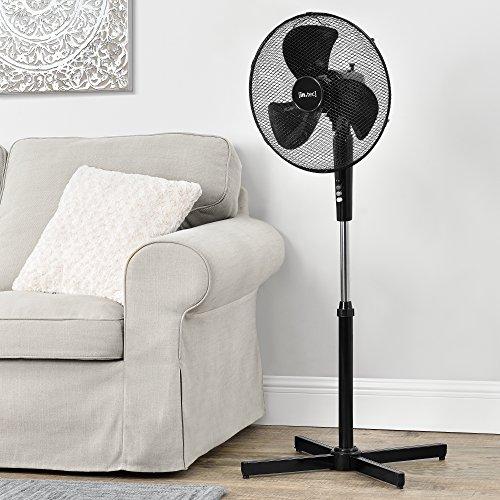 [in.tec]® Standventilator Ø41cm Ventilator Luftkühler Windmaschine oszillierend ø41cm 45W