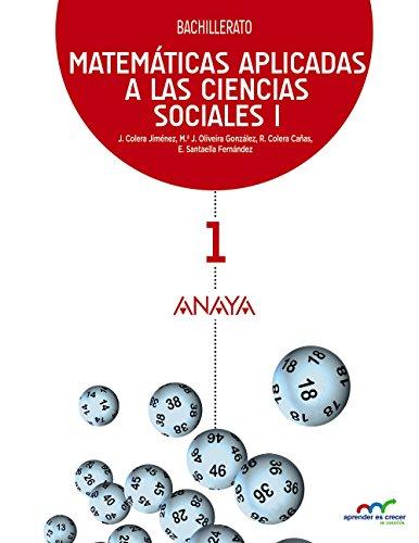 Matemáticas aplicadas a las ciencias sociales i (aprender es crecer en conexión)