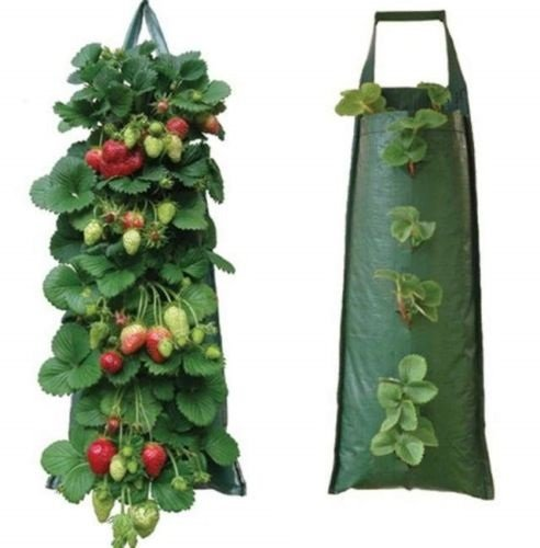 2-x-fabric-hanging-planter-grow-bag-plant-pouch-tomato-herb-flower-strawberry-growing-bags