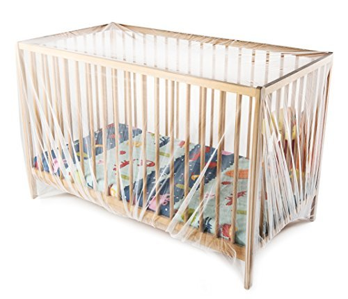 Baby Mosquito Net for Pack n Plays, Playpens, Twin Strollers & Cribs. Premium King Size 100'' x 100'' Insect Net, Fits All Playpens, Pack 'n Plays, Double Jogging Strollers & Tandem Strollers