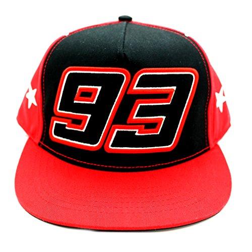 Marc Marquez 93 Moto GP estrellas rojo Gorra Oficial