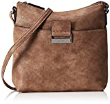 GERRY WEBER Damen Be Different Mvz Schultertasche, Braun (Light Brown), 8x23x23 cm