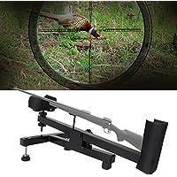 Banco de Tiro Descanso para Rifle Pistola de Aire Observación Benchrest Soporte Acolchado Estable para Disparo