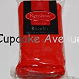 1kg Regalice Ready Roll Icing - Cake Covering Sugar Paste All colours (Poppy Red)