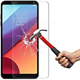 LG G6 Plus 128 GB, Tempered Glass, Azzil Premium Real 2.5D 9H Anti-Fingerprints & Oil Stains Coating Hardness Screen Protector Guard For LG G6 Plus 128 GB