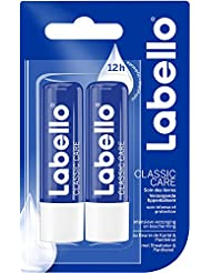 Labello Duo Classic Care - 2 packs de 2 unités