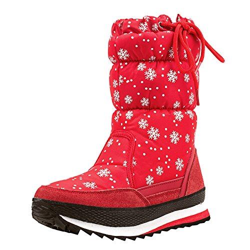c4f4052a15a18 Shenji Scarpe Donna Invernali - Stivali da Neve Con lo Zip la ...