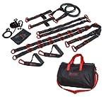 Marcy suspension trainer noir/rouge