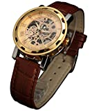 Best Relojes esqueleto - SEWOR - Reloj de pulsera para hombre, diseño Review
