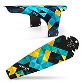 rideguard PF1und PF2Geo Blackbird vorne und hinten Schutzblech Fender Set. MTB/CX/Fat Bike