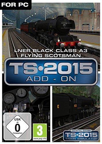 LNER Black Class A3 Flying Scotsman Loco AddOn