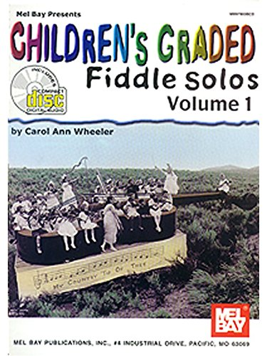 children-39-s-graded-fiddle-solos-volume-1-partitions-cd-pour-violon
