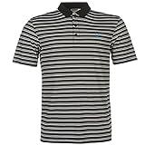 Dunlop Herren Stripe Golf Polo Shirt Kurzarm Tee Top T-Shirt Extra Leicht