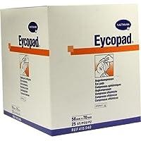 EYCOPAD Augenkompressen 56x70 mm steril 25 St Kompressen preisvergleich bei billige-tabletten.eu