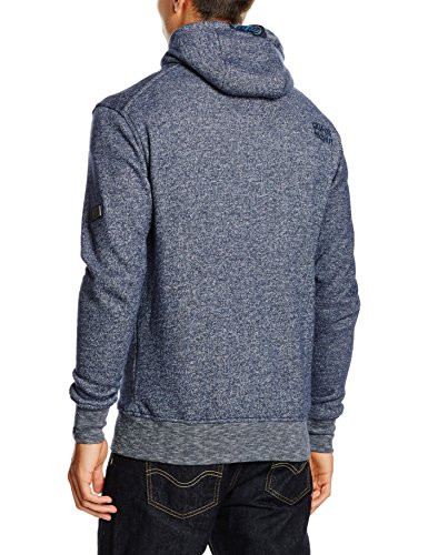 alife & kickin Herren Trasher Sweat denim melange