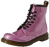 Dr. Martens Mädchen 1460 Glitter Y Kurzschaft Stiefel, (Dark Pink 960), 38 EU