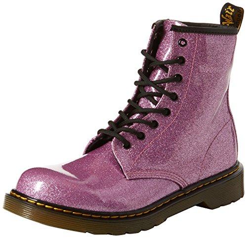 Dr. Martens Mädchen 1460 Glitter Y Kurzschaft Stiefel, Dark Pink 960, 37 EU (Für Martens Mädchen Doc Schuhe)