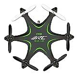 Mini rollo de 3d Drone, megadream JJRC H18Gira de 360grados RC Quadcopter con Transmisor 2.4GHz 4CH 6Ejes Modo sin Cabeza Quadcopter Juguete RTF 4CH Quad Copter con control remoto inalámbrico de 2,4GHz y luz LED para Noche Flying