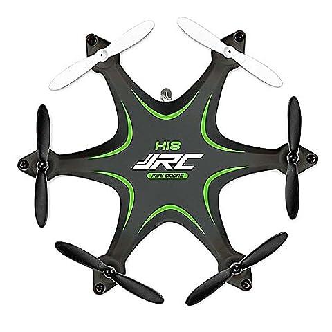3D étui à rabat retournement RC Avion Drone, megadream jjrc-h18Nano 6axes Gyro 360degrés rotation Flips pour jouet RTF Mode Headless 4CH Quad Copter sans fil 2,4GHz avec télécommande et lumière LED pour VOL de nuit
