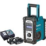 Makita DMR109 10.8v-18v LXT/CXT LI-ion Job Site Radio With 2 x BL1830 3.0Ah Batteries & DC18RC Charger