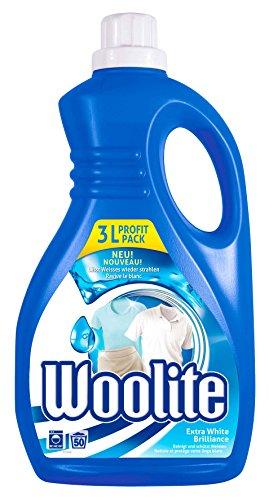 Woolite White Brilliance, Feinwaschmittel für Weißes, 3 Liter, für 50 Waschladungen