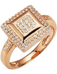 Spirit - New York Damen-Ring Silber vergoldet Zirkonia weiß 930039975