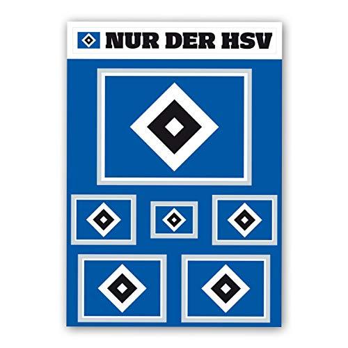AUTO AUFKLEBER STICKER HAMBURGER SV HSV Banderole mittel UVP 7,95 /€ NEU