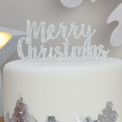 christmas cake toppers amazoncouk - Christmas Cake Decorations Amazon