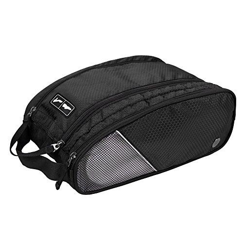 BAGSMART Polyester-Schuhbeutel Reiseschuhtasche mit Reißverschluss (32 x 14 x 23cm) (Golf-symbol Herren)