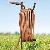 TRI Schlauchhalter, Gartenschlauchhalter, Aufhängemöglichkeit,...