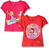#10: Chhota Bheem Girls' T-Shirt (Pack of 2)