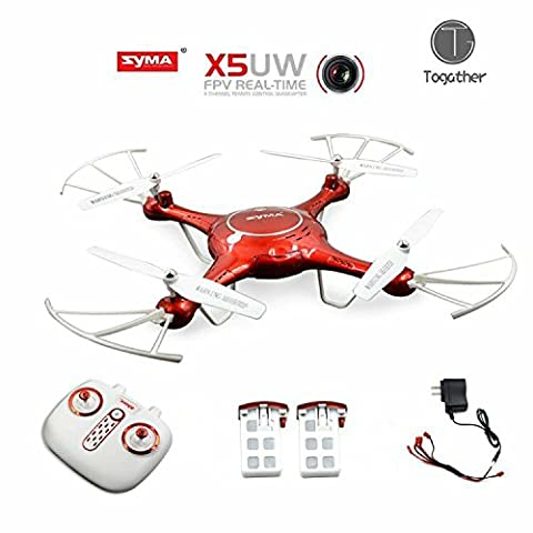Togather® Syma X5UW FPV Drone 2.4G Caméra HD Wifi en
