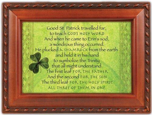 Cottage Garden Music Box -Irish Lullaby -St Patty's Shamrock MB1322 by Cottage Garden