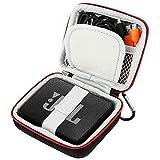 TesRank Coque de Protection Housse pour JBL GO/JBL GO 2 Haut-Parleur Bluetooth avec Mousqueton