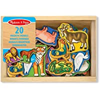 Melissa & Doug – 10475 – Creative Leisure – 20 Wooden Magnets