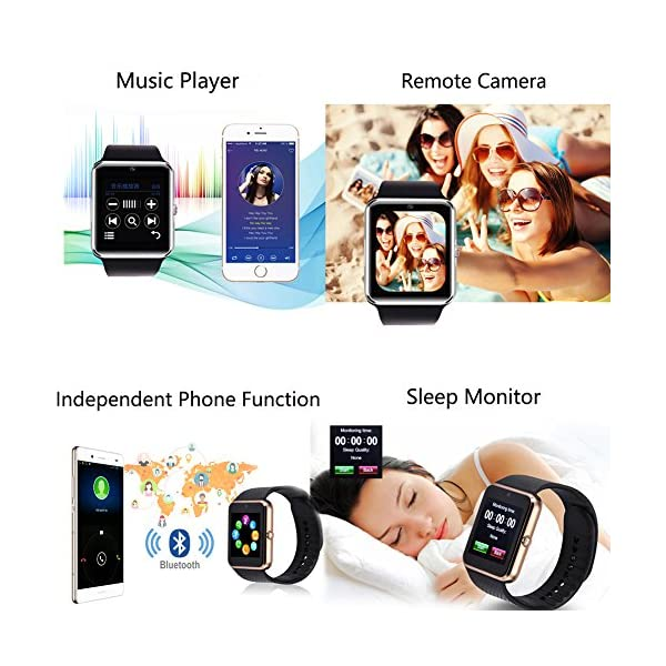 TagoBee TB09 IP67 Pulsera de Actividad Fitness Tracker smartwatch Monitorización de la presión Arterial Notificaciones… 4