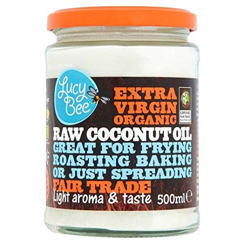 Lucy Bee Sri Lanka extra 500ml Huile de noix de coco vierge biologique