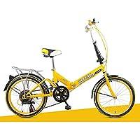 XQ- XQ-URE-600 20 Zoll 6 Geschwindigkeit Erwachsene Faltrad Dämpfung Studentenauto Kinderfahrrad