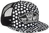 vans Beach Trucker Hat, Gorra de Béisbol para Mujer, Negro (Oversize Dots M9a), Talla Única