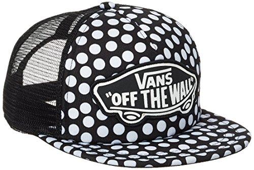vans Damen Baseball Cap Beach Girl Trucker Hat Schwarz (Oversize Dots M9A), One Size (Girl Vans Beach)