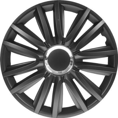 AutoStyle-IntensoPro-Bla-Set-Copricerchio-Intenso-Pro-Nero-Con-Anello-Cromato-4-pezzi