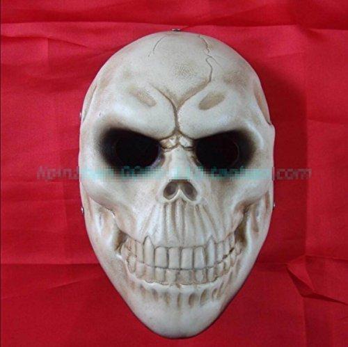 Schädel Schädel Maske Zahltag Halloween Horror Kleid Demon Requisiten Teufel Zusammenleben,A3