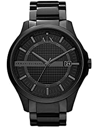 Armani Exchange Analog Black Dial Men's Watch - AX2104