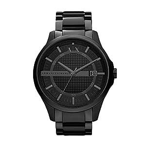 Armani Exchange Analog Black Dial Men's Watch - AX2104