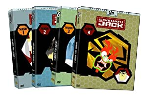Samurai Jack: Complete Seasons 1-4 [DVD] [Region 1] [US Import] [NTSC]