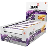MaxiNutrition Progain Mass and Strength Flapjack Bars - Mixed Berry, 90 g, Box of 12