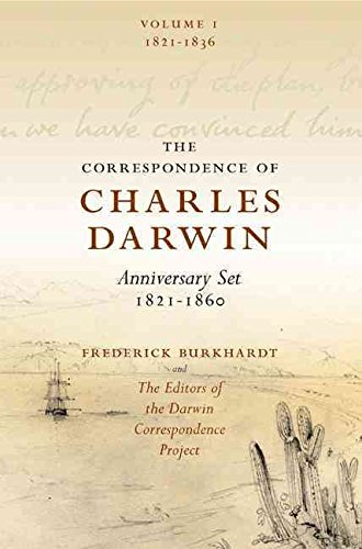 [The Correspondence of Charles Darwin 8 Volume Set: v. 1-8: 1821-1860] (By: Frederick H. Burkhardt) [published: November, 2009]