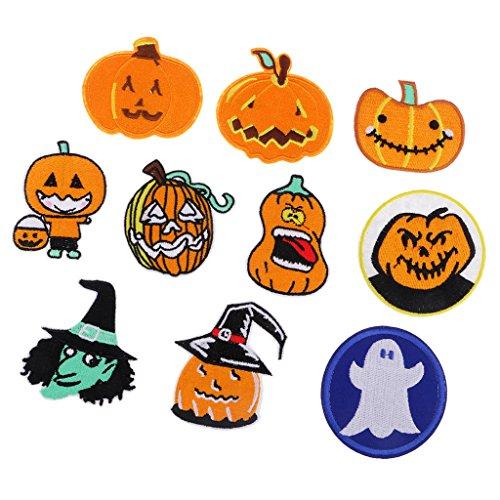ähen Halloween Applikation Aufnäher Dekoration für Baby Dusche ()