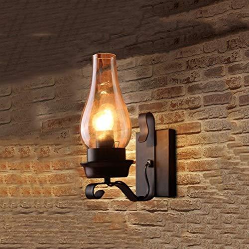 Küche Massivholz Küche Der Insel (ZHANG NAN ● Vintage Industrie Wandleuchte Loft LED Wandleuchte Küche Insel Esszimmer Bar Flur für Straße Shop Dekoration Lampe ●)